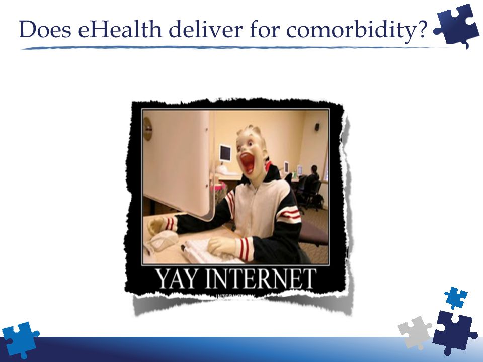 Does eHealth deliver for comorbidity