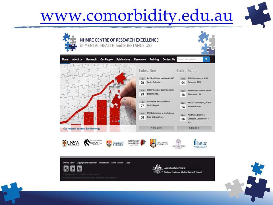 www.comorbidity.edu.au