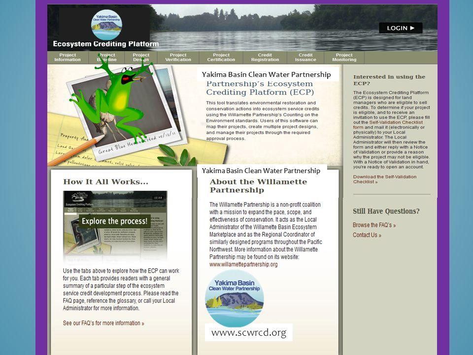 Yakima Basin Clean Water Partnership www.scwrcd.org ////////////////////////// /////////////