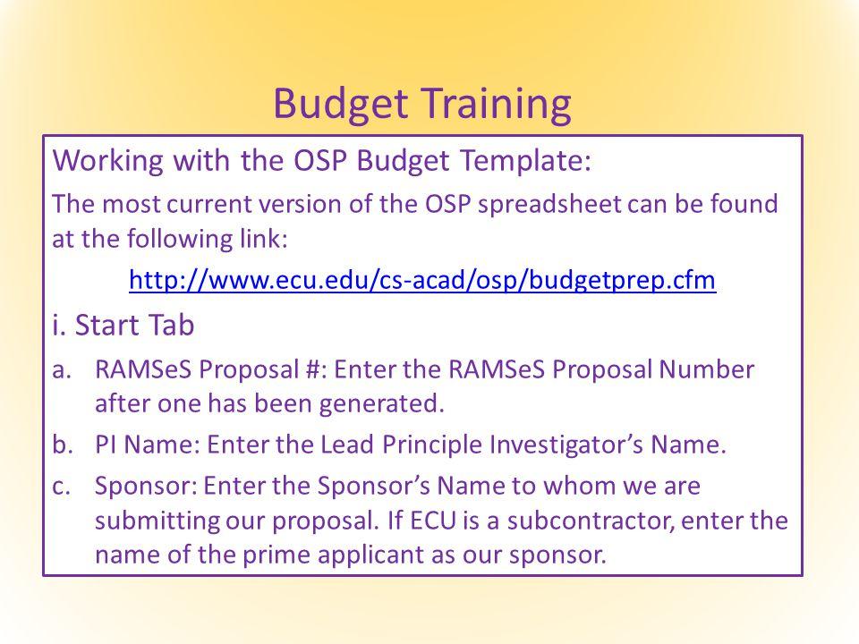 Budget Training i.