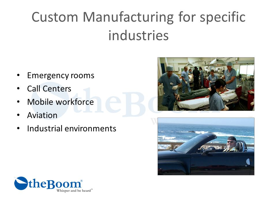 Bootstrapping Marketing and Sales The Internet Trade shows - Customer driven innovation and product creation Wall Street, Military, Nascar, Industrial,Voice Recognition