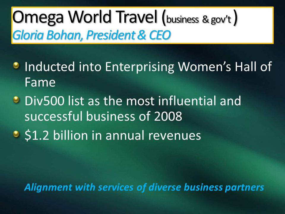Small Women Business Enterprises… Taking Their Places on the Success Ladder