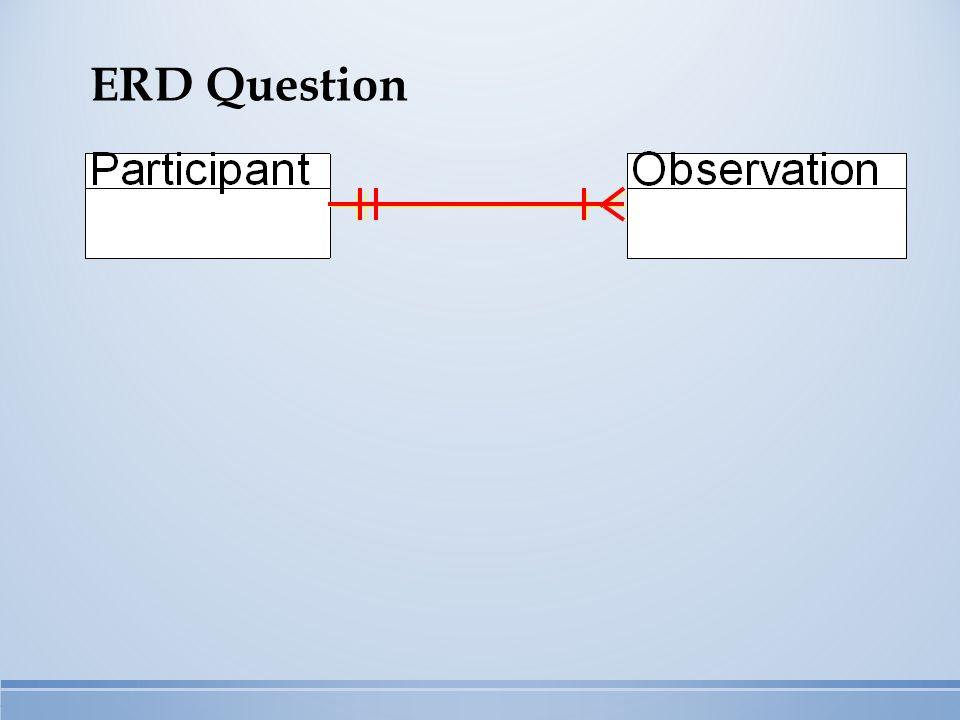 ERD Question