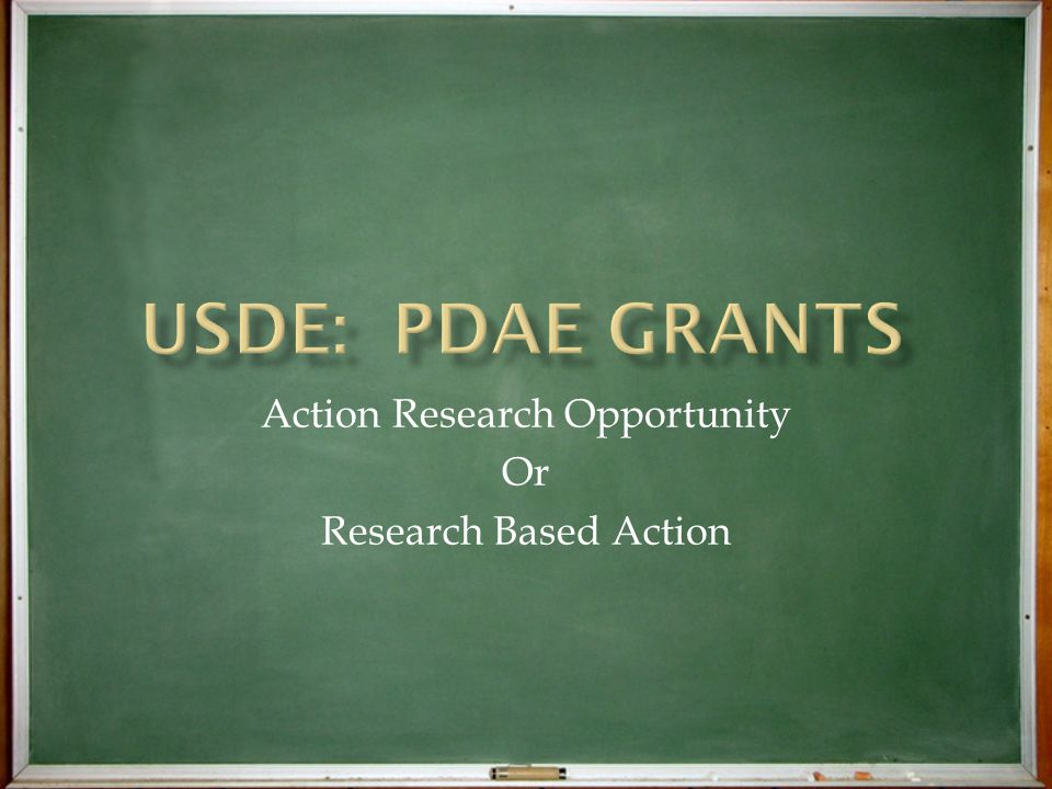 Action Research Opportunity Or Research Based Action