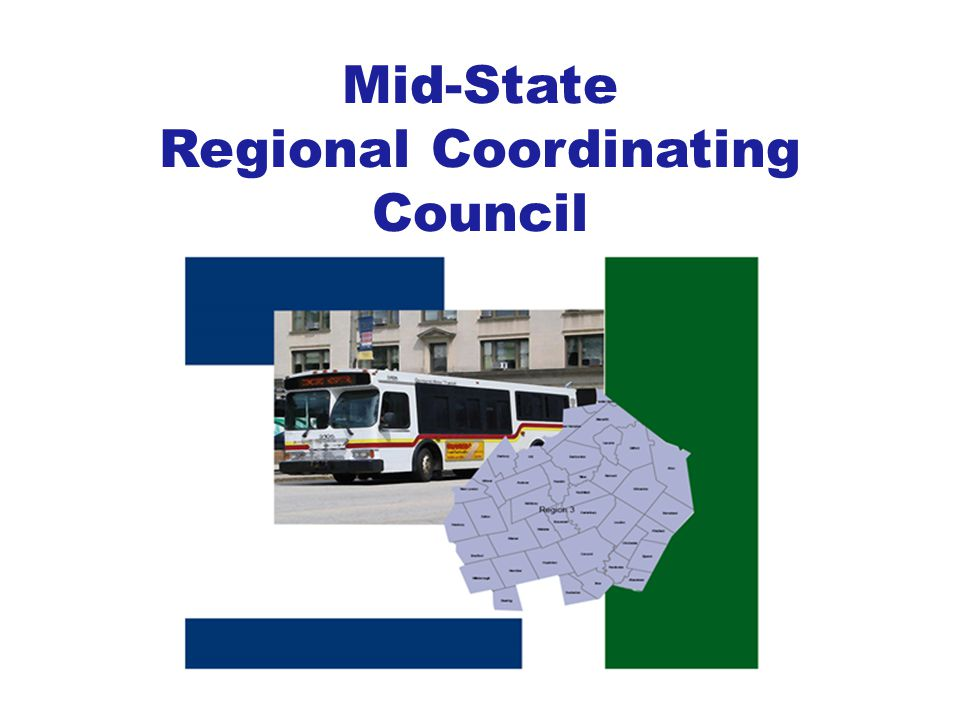 2007- NH legislature passed RSA 239B establishing the Statewide Coordinating Council for Community Transportation (SCC) – Set statewide policies for community transportation – Establish Regional Coordinating Councils (RCC) – Help regional councils and the local communities develop and implement transportation options.