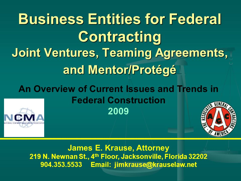 OVERVIEW How to propose on Federal construction projects set aside for small businesses.