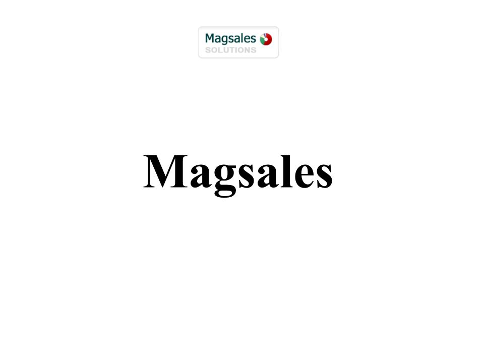 Magsales: Sales solutions for complex business environments Providing a solid project knowledge backbone and unique proposal generation and tracking solutions for project-based businesses.