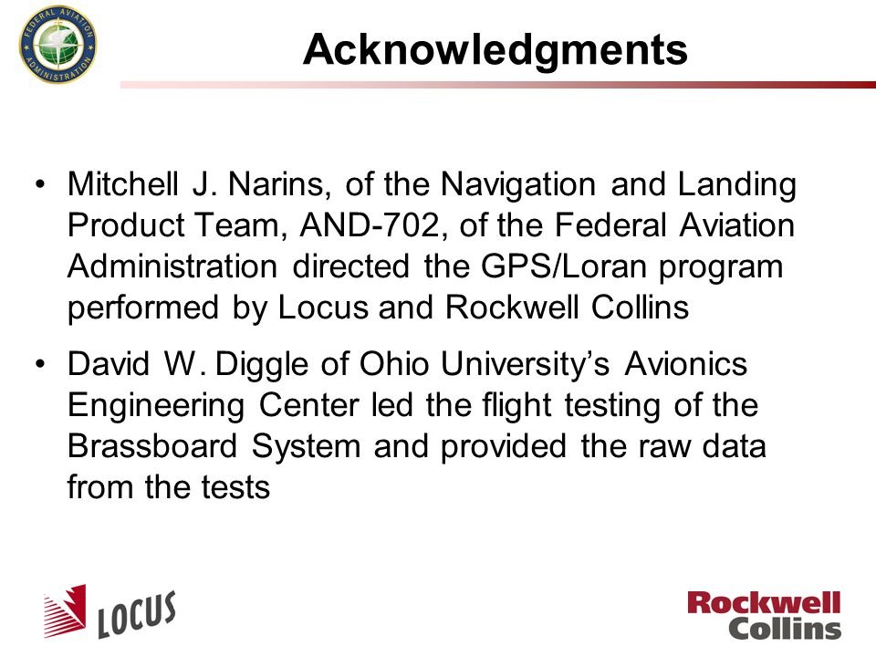 Acknowledgments Mitchell J.