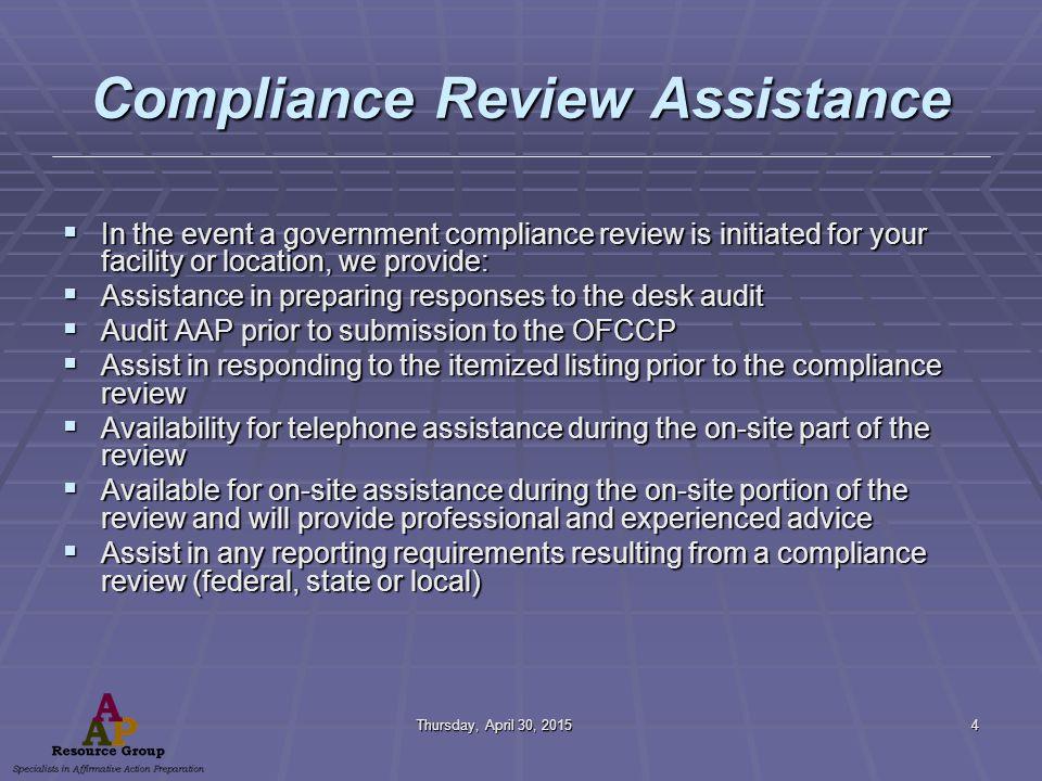 Federal Contractor Obligations Under Executive Order #11246