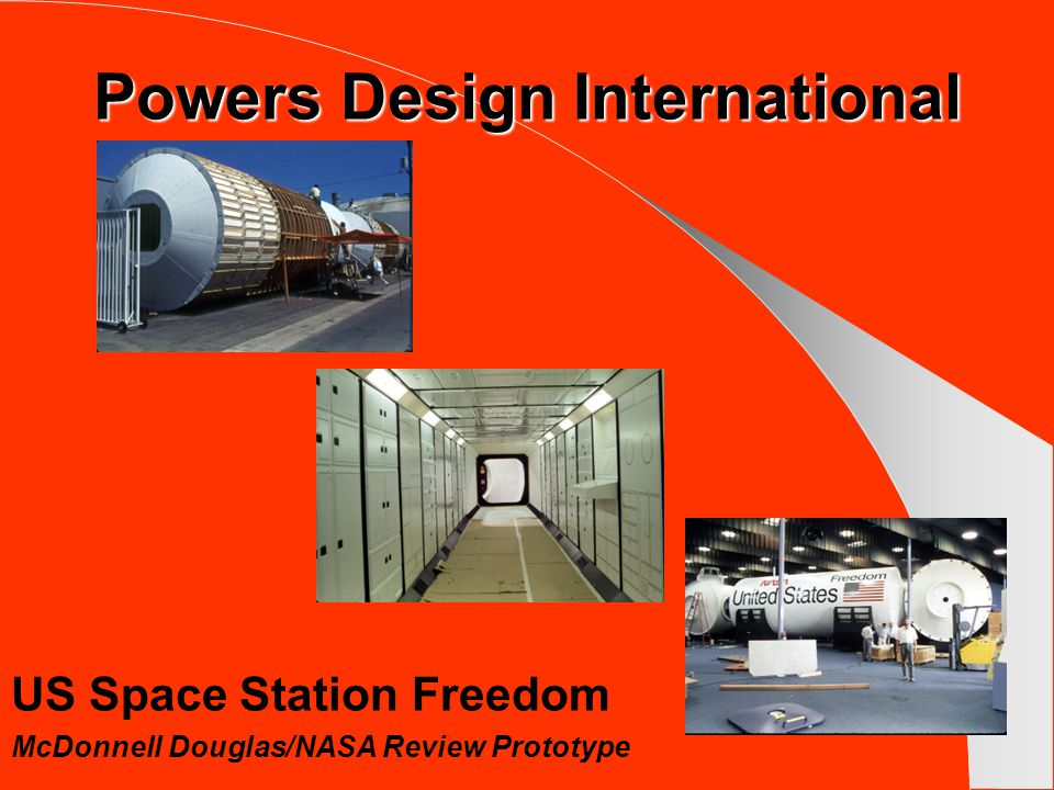 Powers Design International United States Space Shuttle Rockwell International/US Exhibit-Paris Air Show