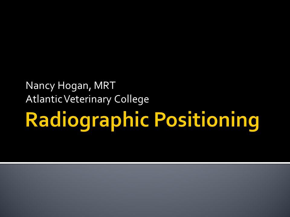 Nancy Hogan, MRT Atlantic Veterinary College