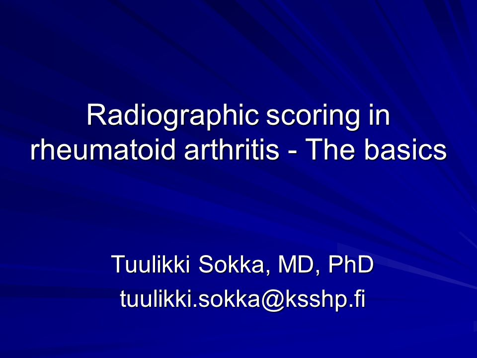 Radiographs – clinical use