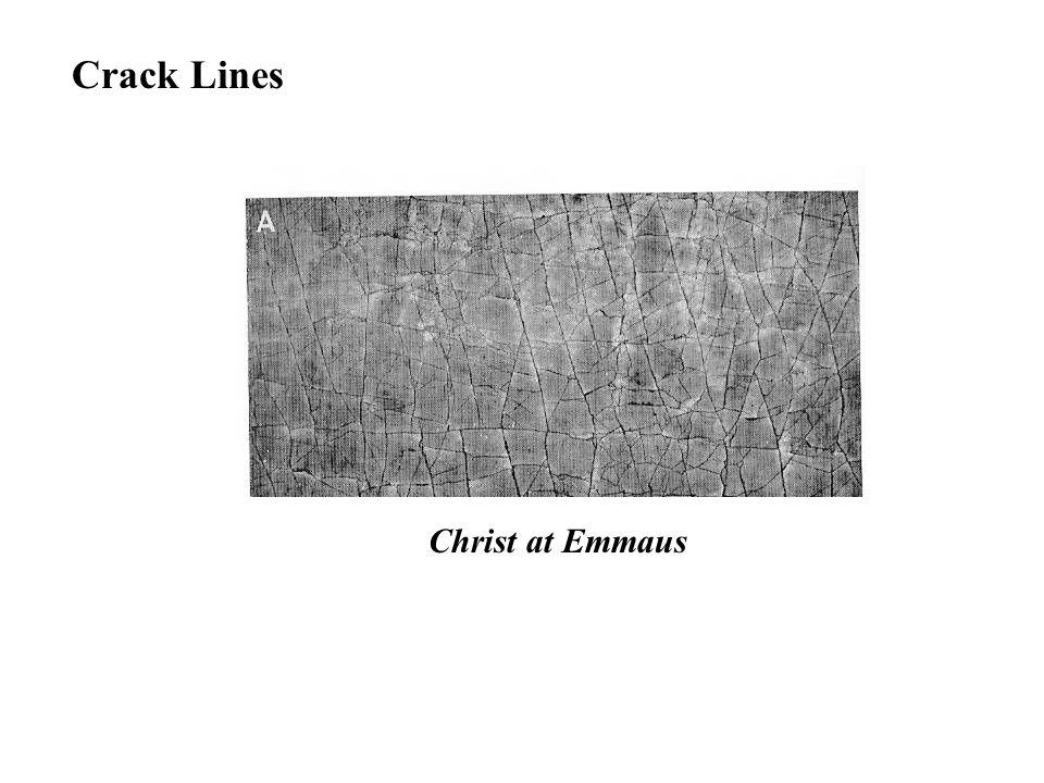 Crack Lines Christ at Emmaus