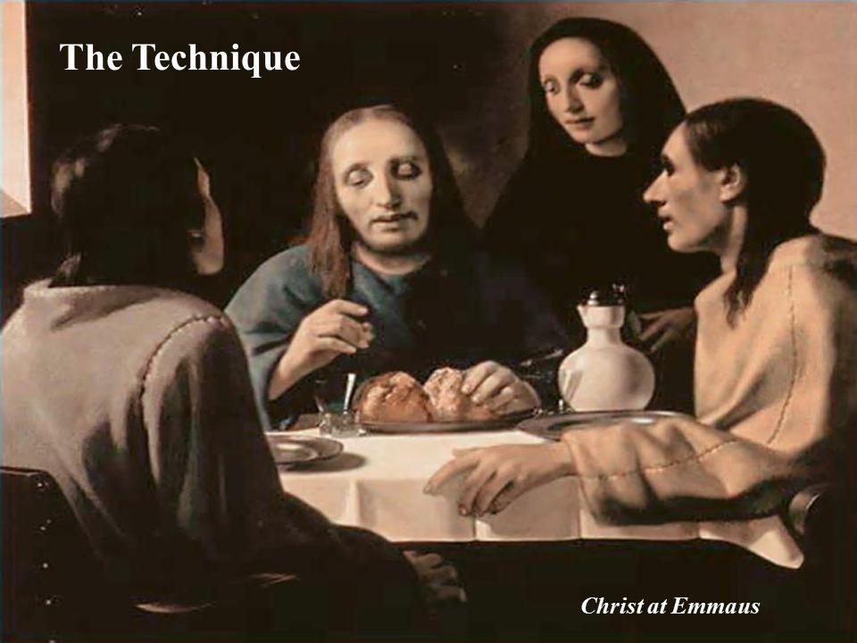 The Technique Christ at Emmaus