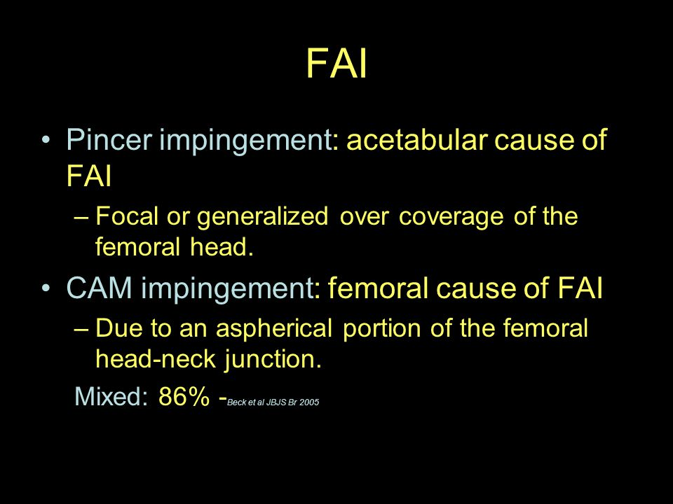 Acetabular Retroversion on axial CT and MR Normal: anterior labrum more medial than the posterior labrum in the sagital plane.