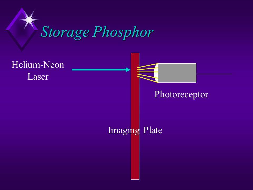 Storage Phosphor Helium-Neon Laser Imaging Plate Photoreceptor