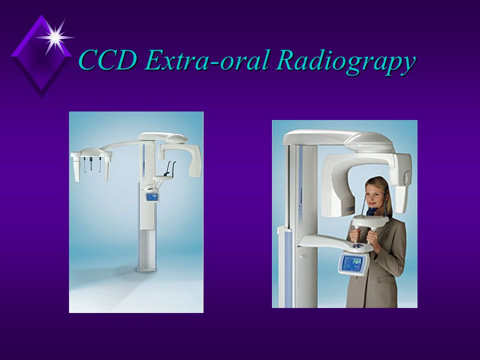 CCD Extra-oral Radiograpy