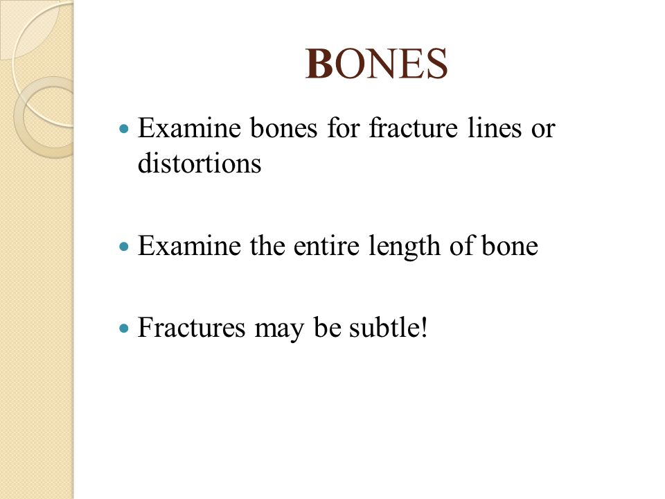 ANS: TRANSVERSE FRACTURE Transverse fractures occur perpendicular to the long axis of the bone.