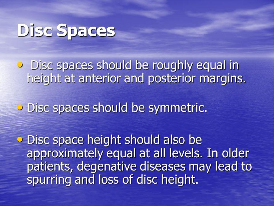 Disc Spaces