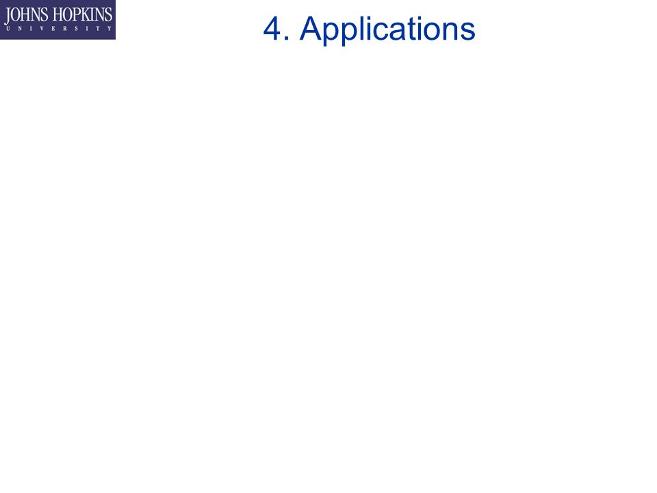 4. Applications