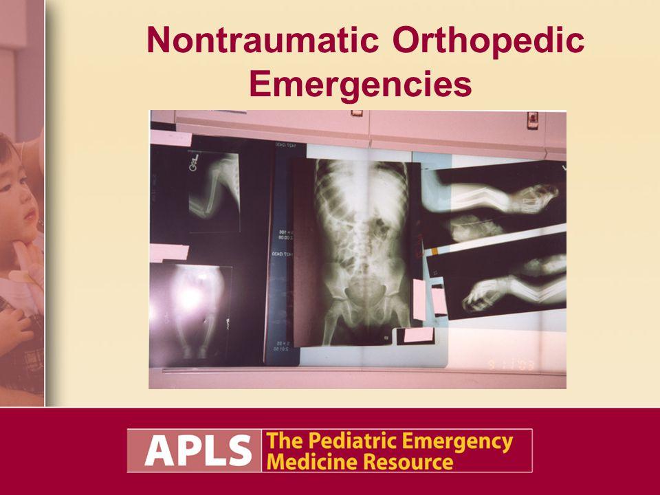 Nontraumatic Orthopedic Emergencies