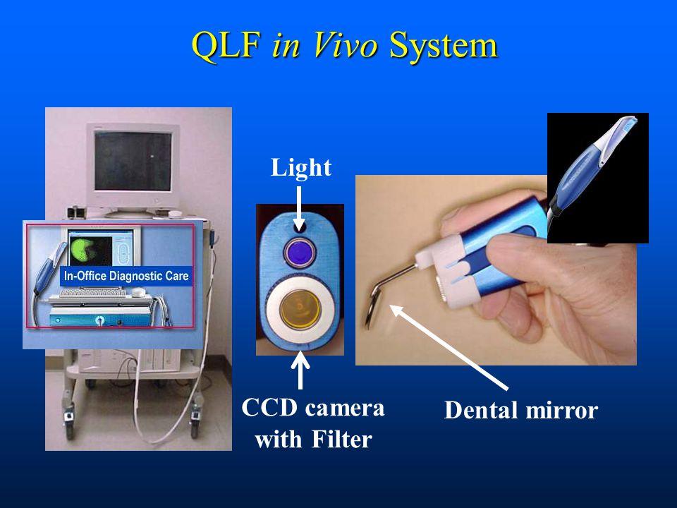 QLF in Vivo System Light CCD camera with Filter Dental mirror