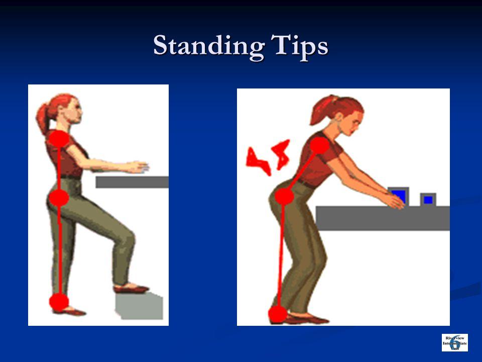 Standing Tips