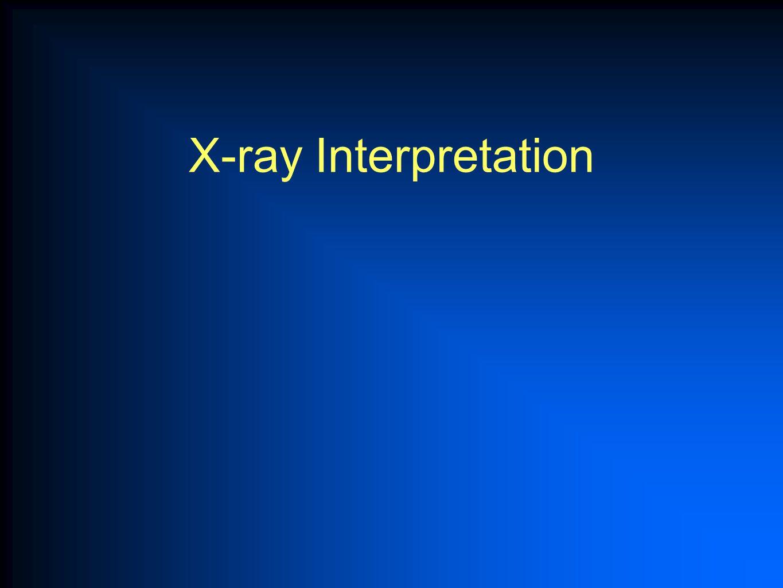 X-ray Interpretation