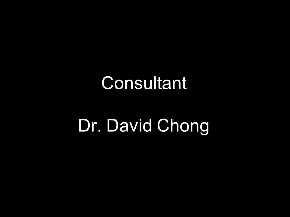 Consultant Dr. David Chong