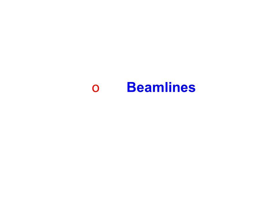 o Beamlines