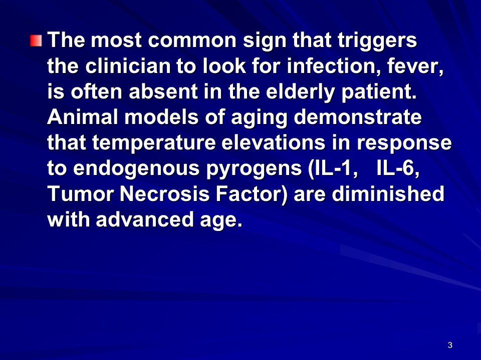 4 הקשיש עם מחלת חום מ ד קשיש בן 78 מובא לחדר מיון עם חום גבוה ועירפול הכרה.