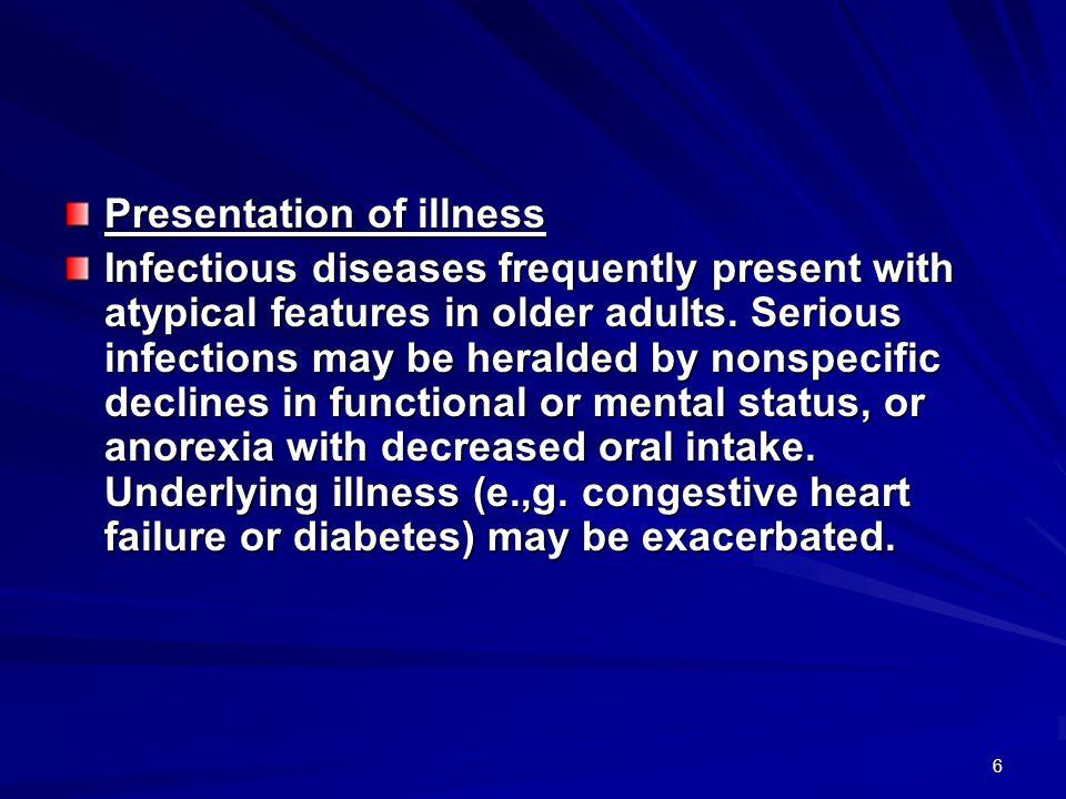 47 Most common causes of community – acquired pneumonia in the elderly population Streptococcus pneumoniae Chlamydia pneumoniae Enterobacteriaceae Legionella pneumophila Haemophilus influenzae Moraxella catarrhalis Staphylococcus aureus Influenza A and B virus