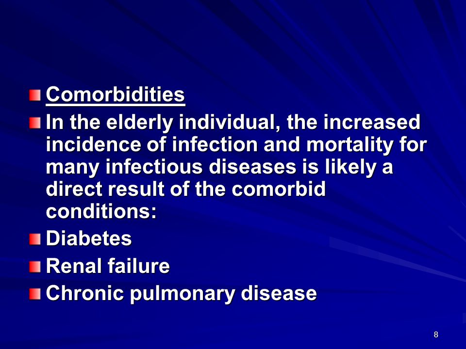 49 Frequency of various signs and symptoms in adults with community – acquired pneumonia Symptoms and Signs% Respiratory symptoms Cough85 Dyspnea75 Sputum production73 Pleuritic chest pain57 Hemoptysis20