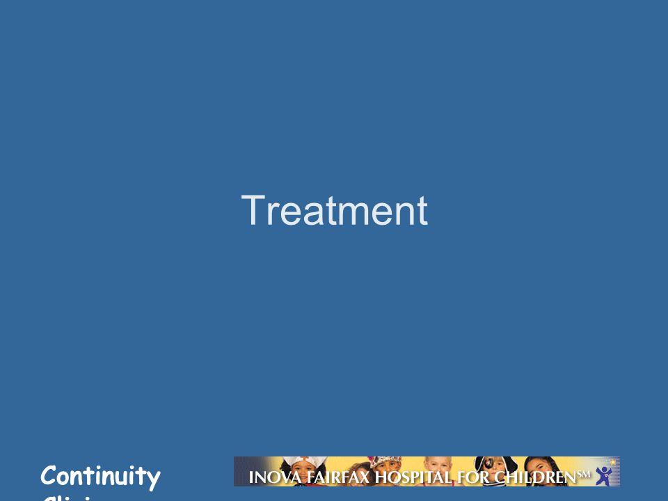 Continuity Clinic Treatment