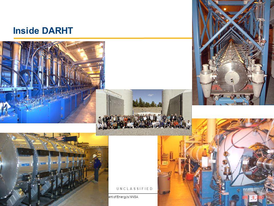 Operated by Los Alamos National Security, LLC for the U.S. Department of Energy's NNSA U N C L A S S I F I E D Inside DARHT Slide 21