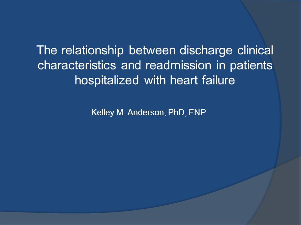 Heart Failure – Incidence and Prevalence  High prevalence, 5.2 million Americans  Only major cardiovascular disorder with increasing incidence  Lifetime risk 1 in 5, 20%, for men and women greater than 40 years  Most common Medicare hospital discharge diagnosis $