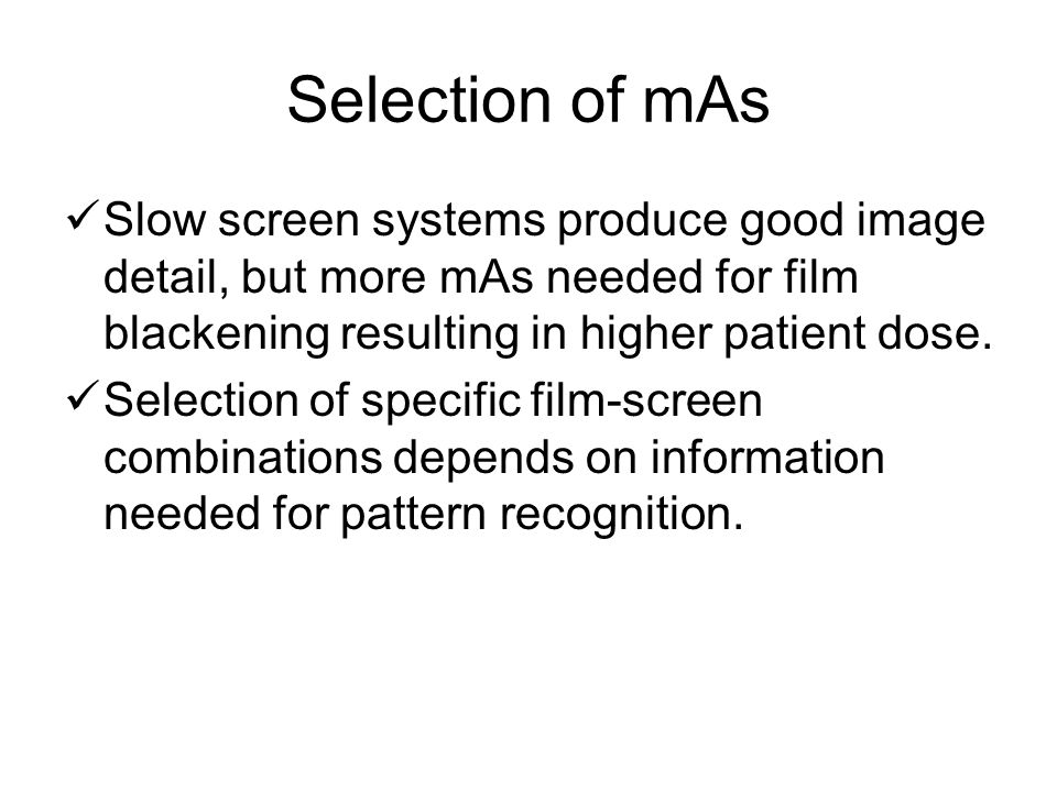 Topic 1 Introduction  Time: Controls the length of time of radiation flow, and therefore film density and patient dose.