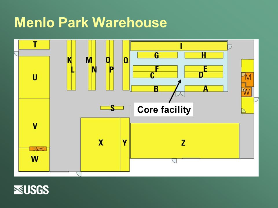 Menlo Park Warehouse Core facility