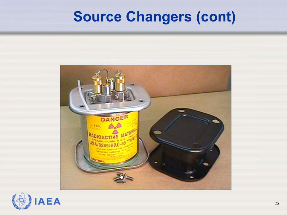 IAEA 25 Source Changers (cont)