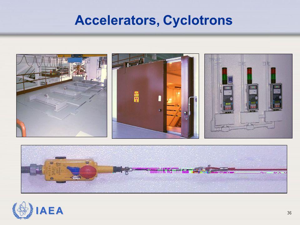 IAEA 36 Accelerators, Cyclotrons