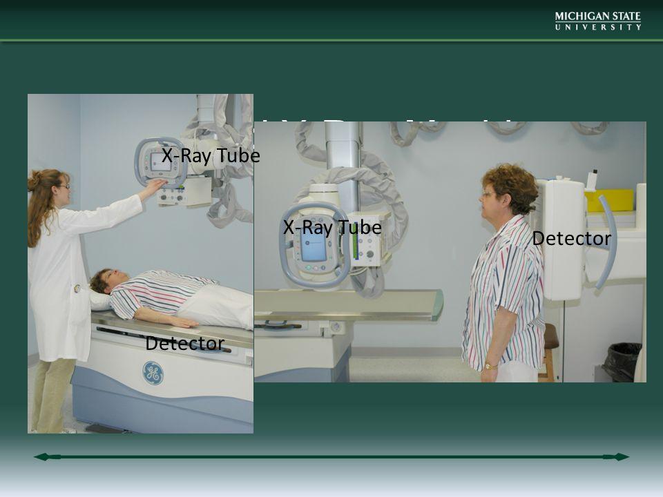 Standard X-Ray Machine X-Ray Tube Detector