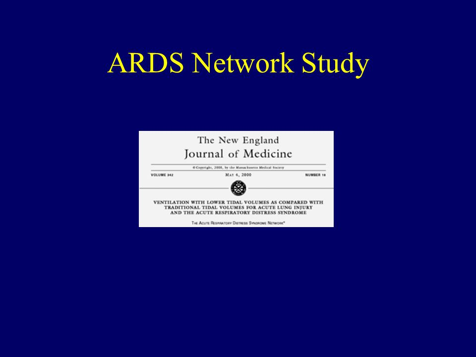 ARDS Network Study