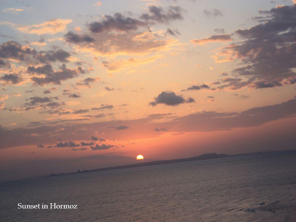 Sunset in Hormoz