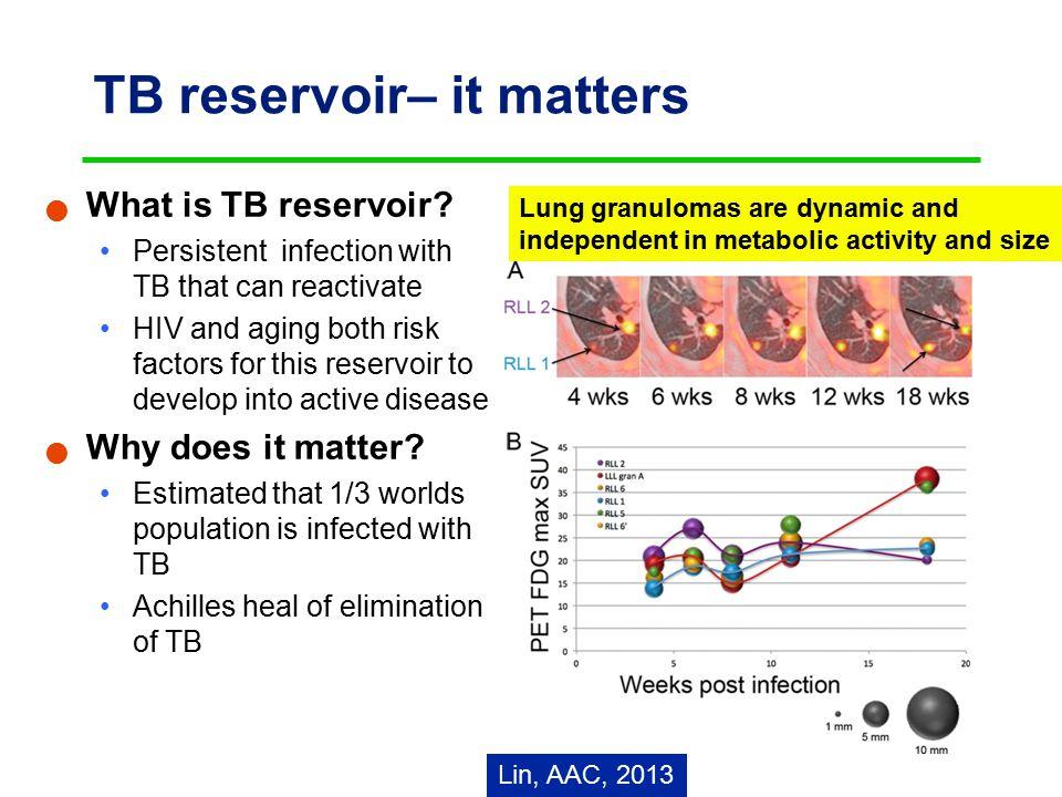 TB reservoir– it matters What is TB reservoir.