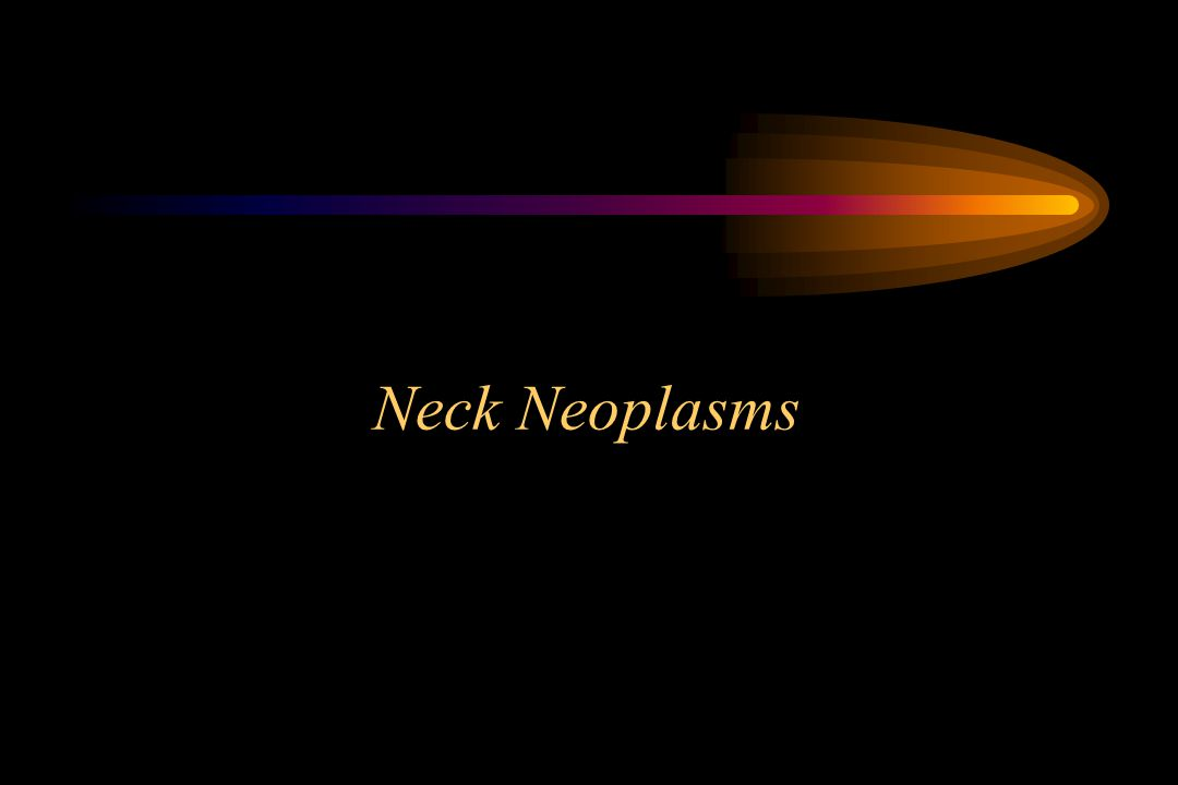 Neck Neoplasms