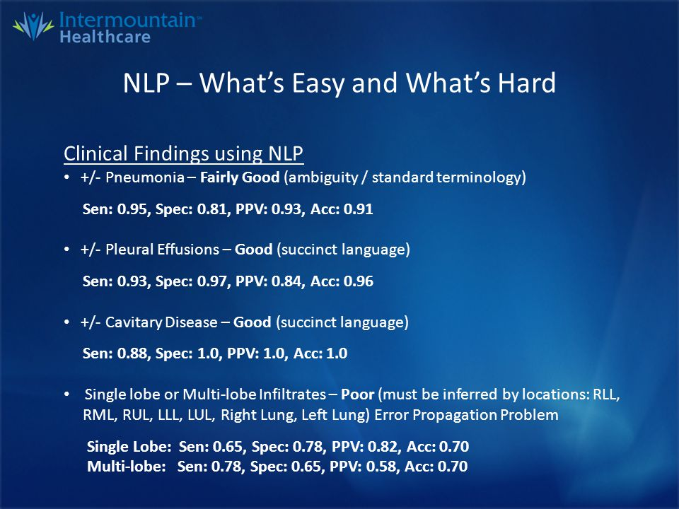 NLP Alternatives that Failed Templating..