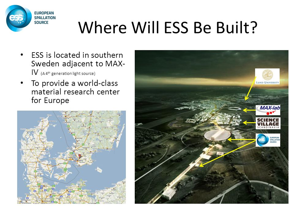 Where Will ESS Be Built.
