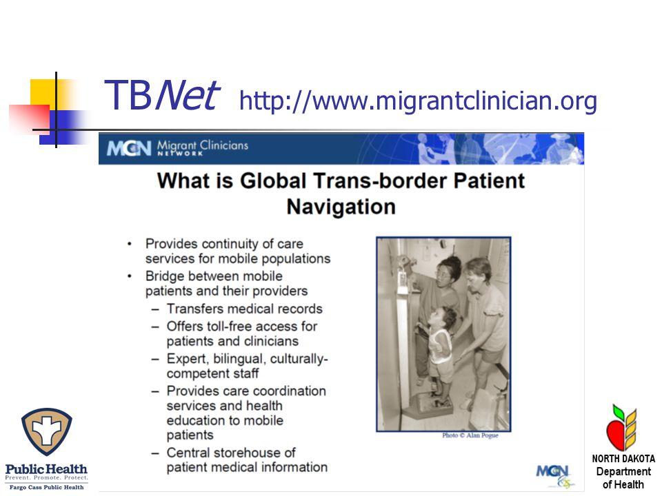 TBNet http://www.migrantclinician.org