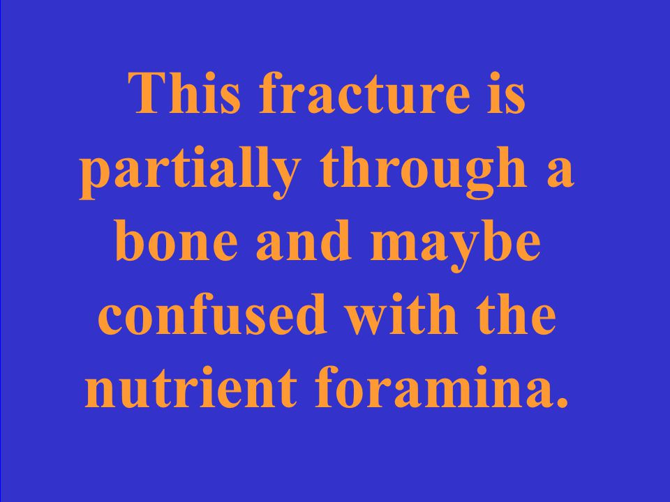 What is a simple fracture?