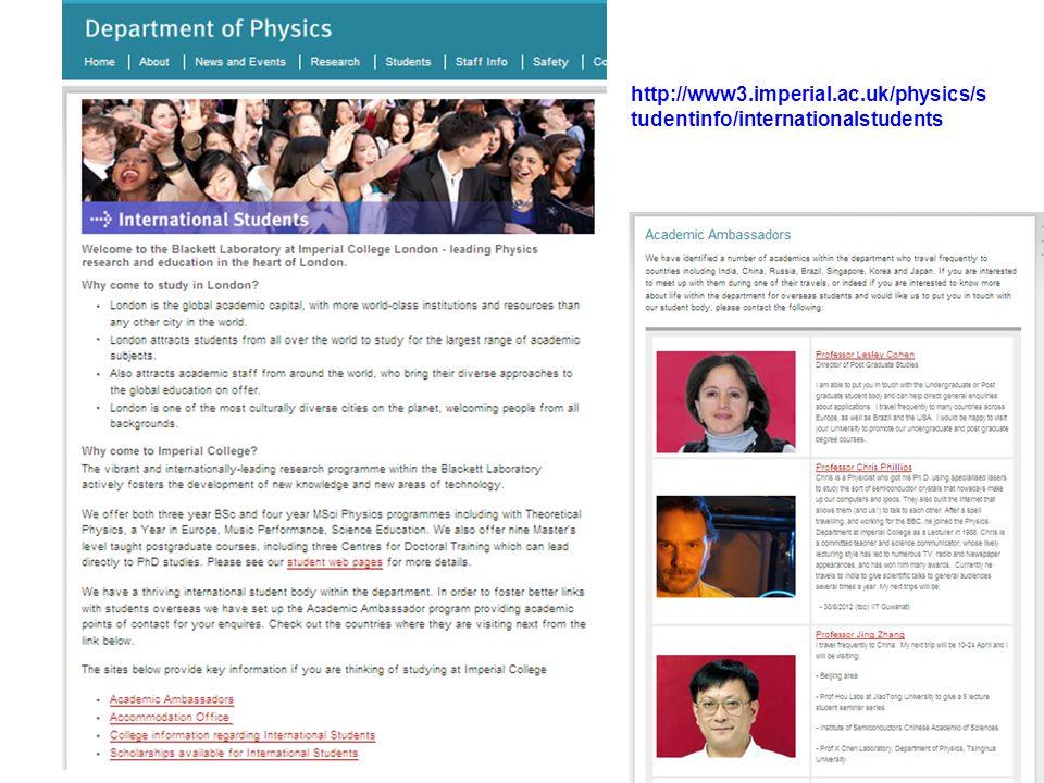 http://www3.imperial.ac.uk/physics/s tudentinfo/internationalstudents